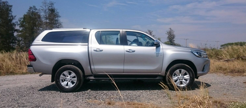 New canopy for Hilux