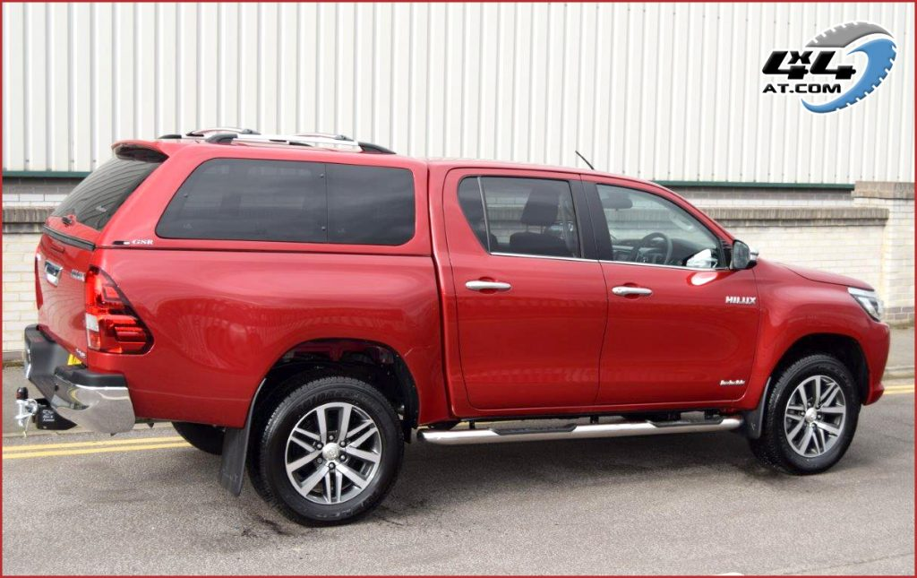 Double Cab Toyota Hilux 16 On Alpha GSR Hard Top Canopy