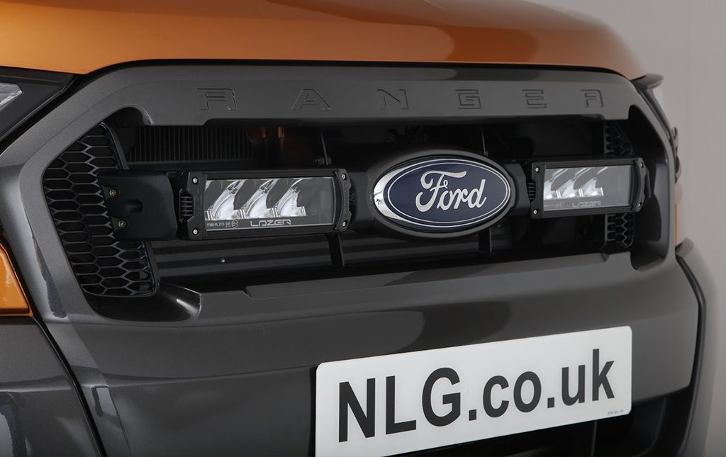 Face Lift Ford Ranger Integration With Lazer Led Lights
