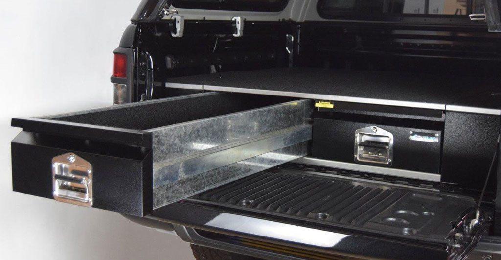 Ford Ranger New Bespoke Drawer System - 4x4AT Blog