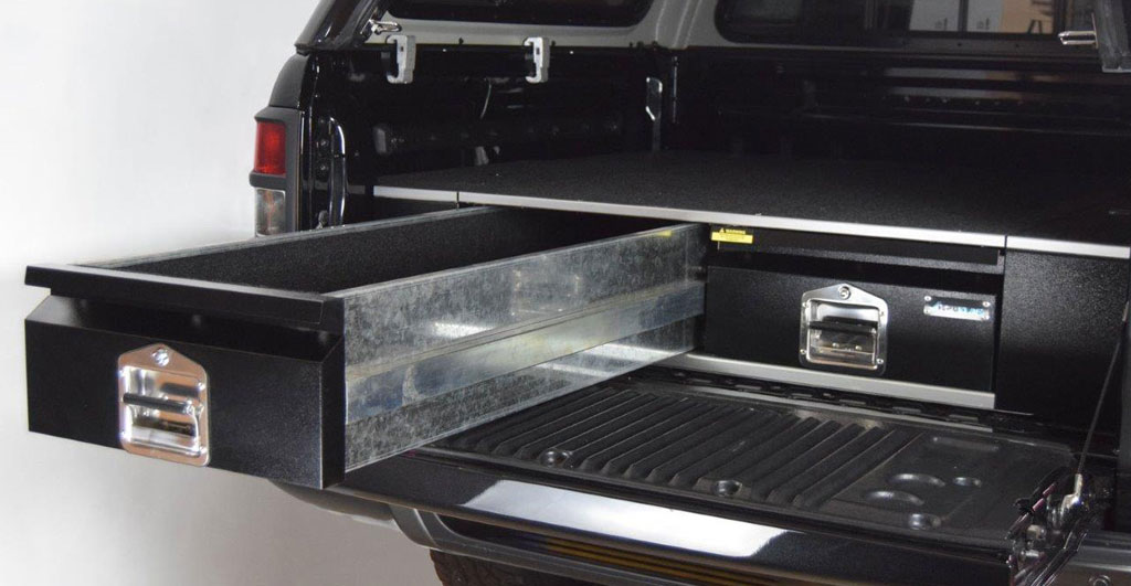 Ford Ranger Truck >> Ford Ranger New Bespoke Drawer System - 4x4AT Blog