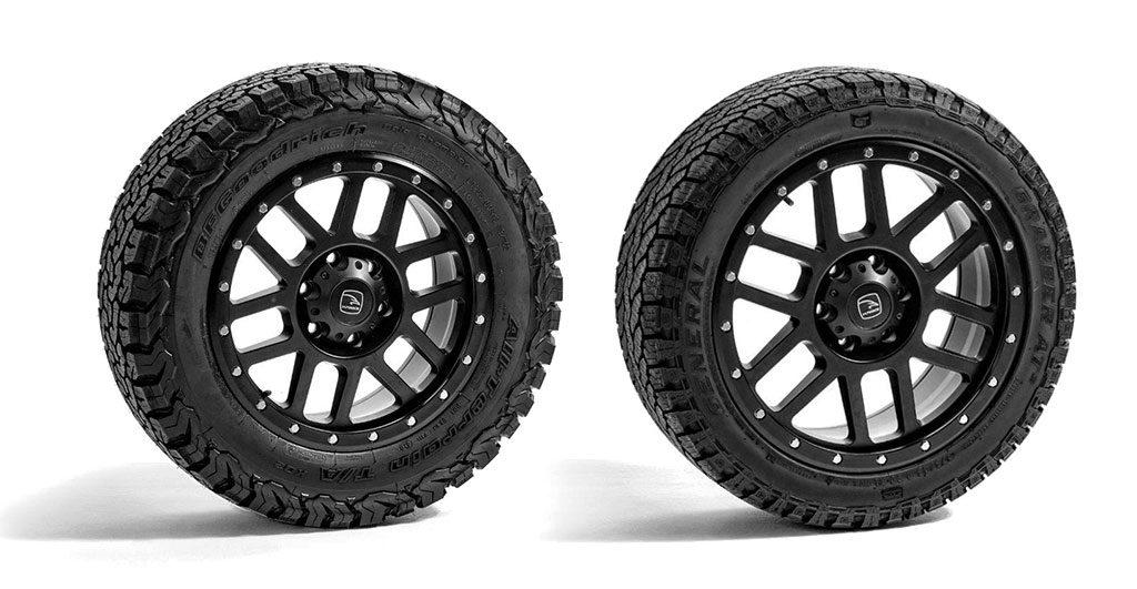 Dakar Hawke Black Alloy Wheels