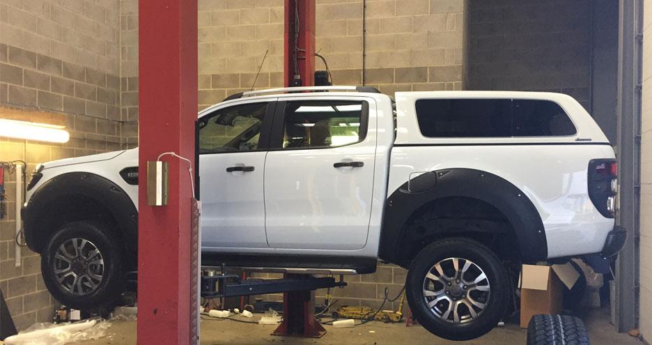 Ford Ranger Fitting