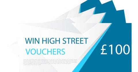 Enter For A Chance To Win High Street Vouchers! [Competition]