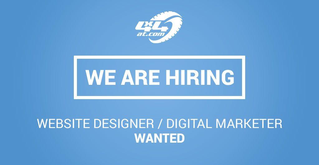Website Designer / Digital Marketer Wanted