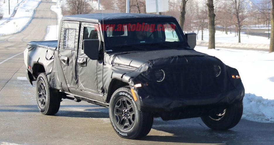 Jeep Wrangler 'JT' Pickup