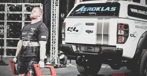 Paul Smith Strong Man Interview - Recently Dead-Lifted A 4x4AT Ford Ranger   En Route to Placing 5th at Britain's Strongest Man
