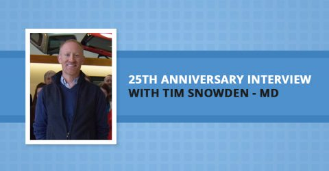 25th Anniversary Interview With Managing Director, Tim Snowden