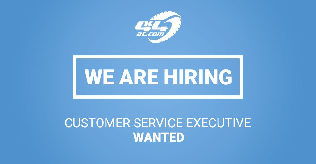 Customer Service Executive Wanted