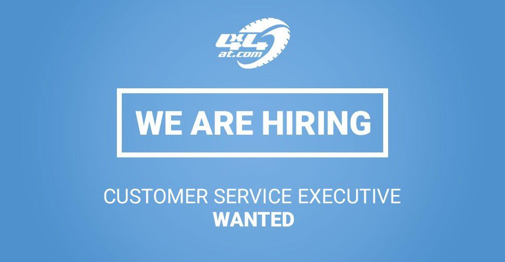 Customer Service Executive Wanted