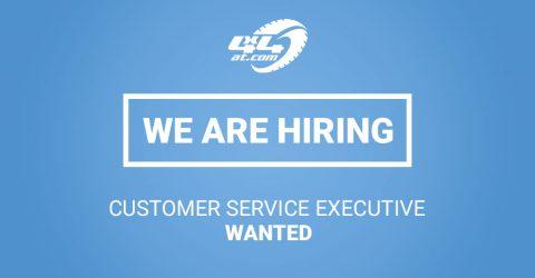 Customer Service Executive Job Vacancy - CLOSED