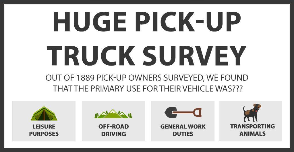Huge Pick Up Truck Survey