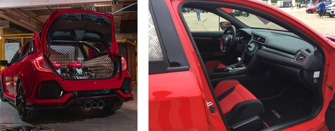 Honda Civic Type R pick-up concept