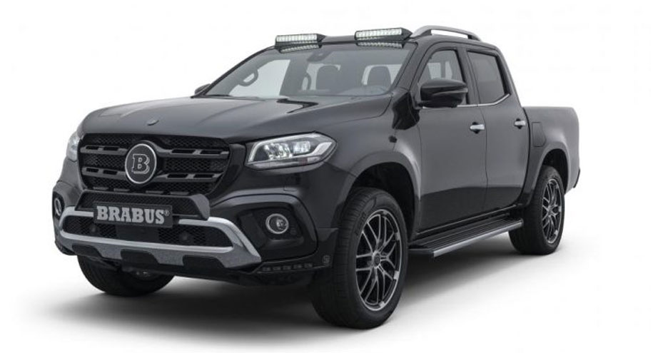 Brabus reveals upgrades for X-Class pickup