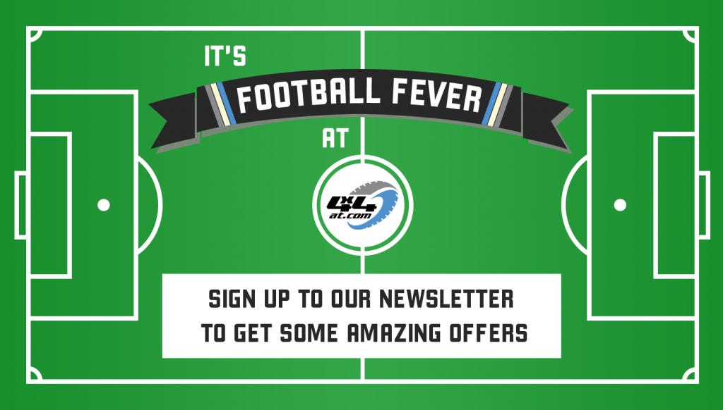 Football fever newsletter offer