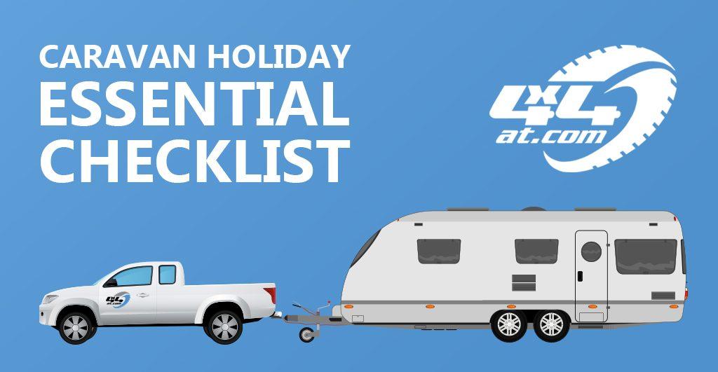Caravan Holiday Checklist