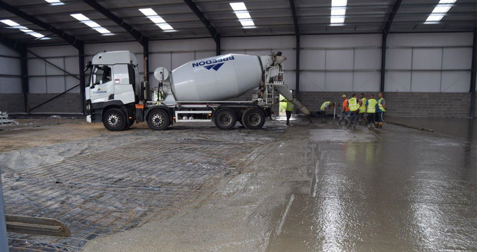 Conygarth Phase 4 Concrete Flooring