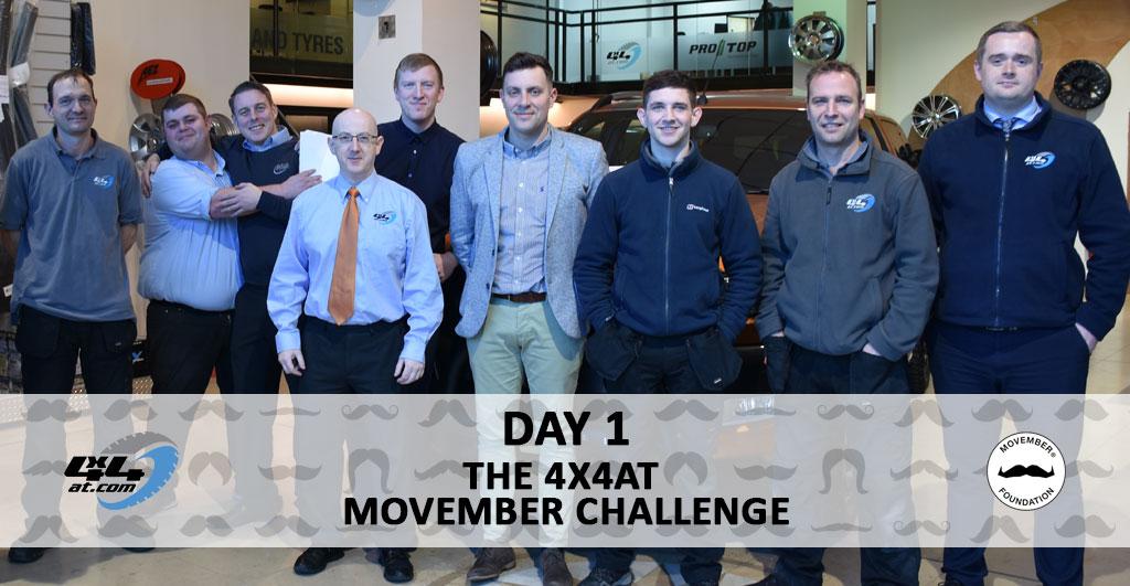 Day 1 - Movember Challenge