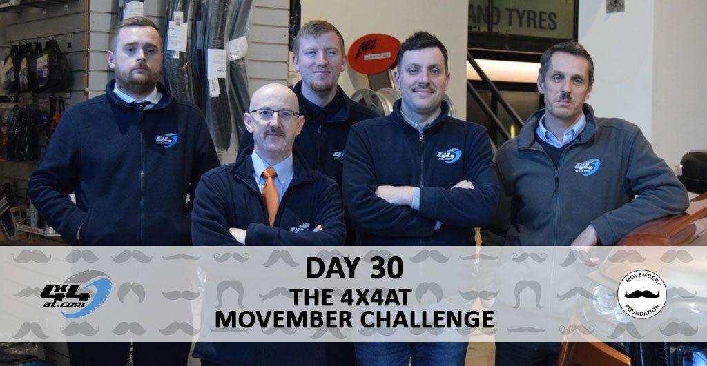 Movember Day 30