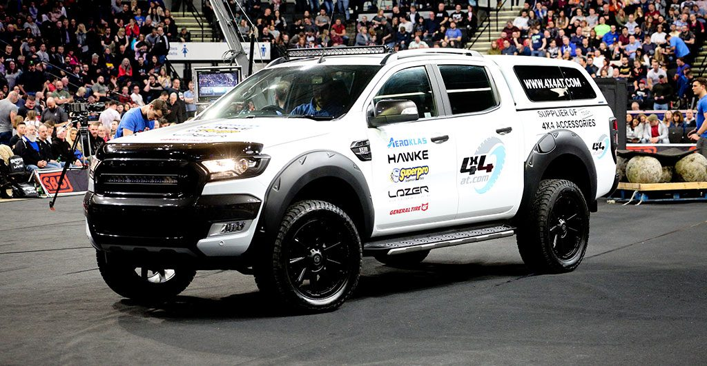 Britain's Strogest Man 4x4AT Pick-up