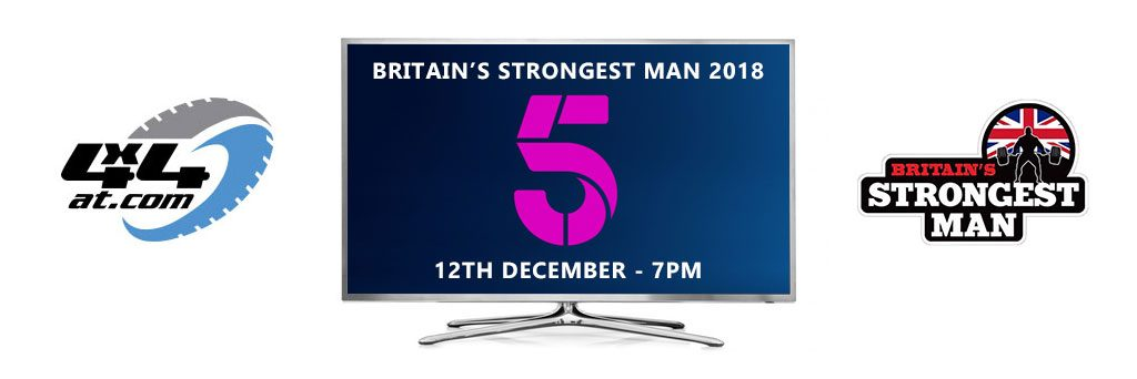Britain's Strongest Man TV 4x4at logo
