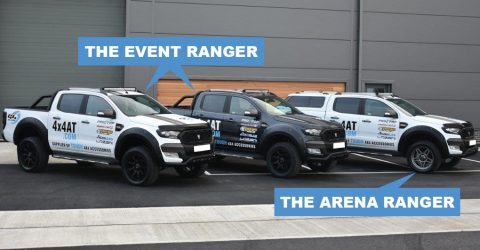 You Can Have A Britain's Strongest Man Ford Ranger Wildtrak Too!!