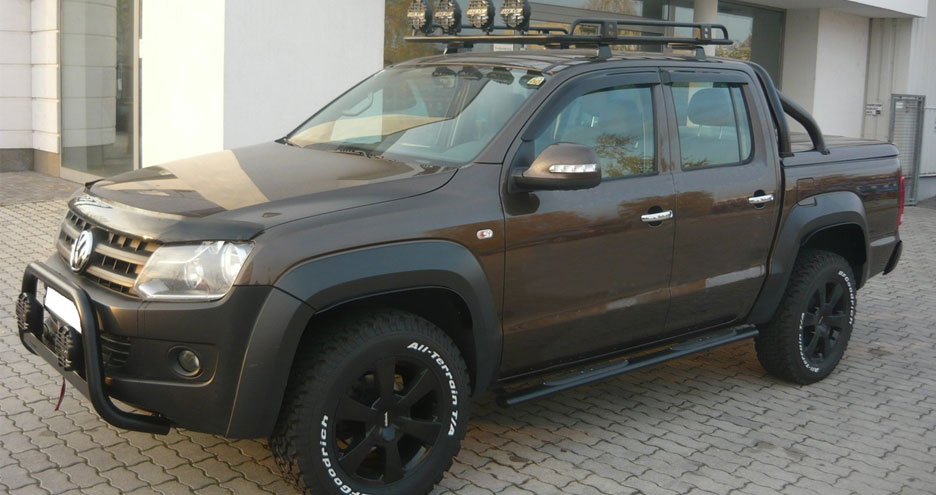 Brand new amarok wheel arches