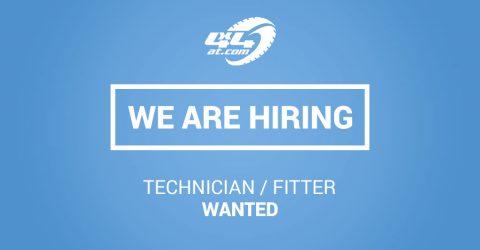 Technician/Fitter Job Vacancy - CLOSED