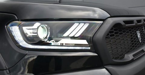 Predator Vision Mustang-Style LED Headlights For The Ford Ranger 2016 On