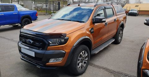 Another Successful Ford Ranger Custom Accessories Fitting