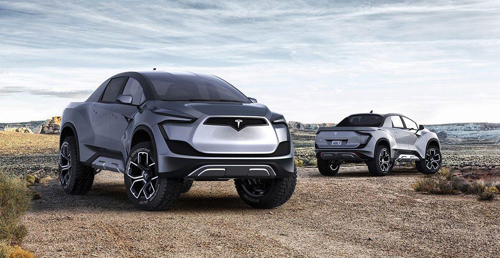 Tesla Pickup Truck Concept Image
