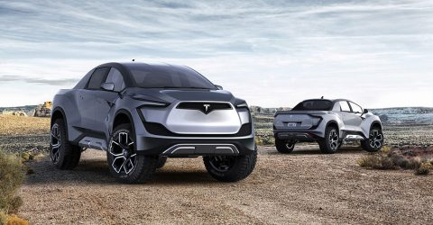 Tesla's Electric Pickup Truck Price Teased By Elon Musk