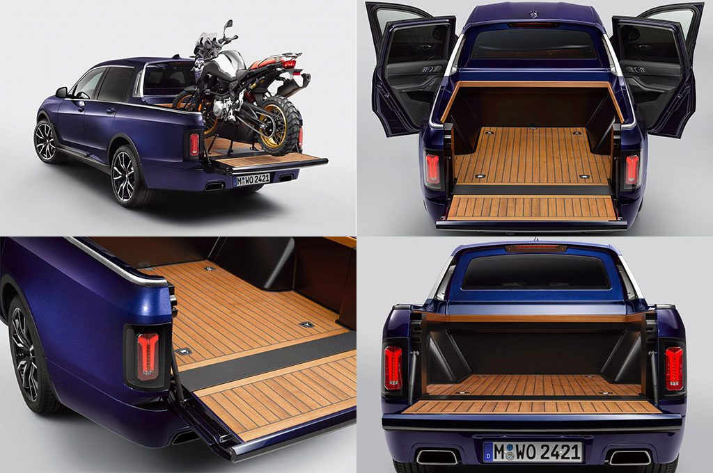 BMW X7 Pick-Up Truck Gallery