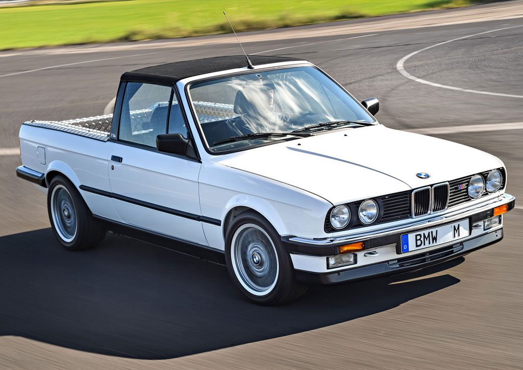BMW E30 M3 Pick-Up Truck Gallery