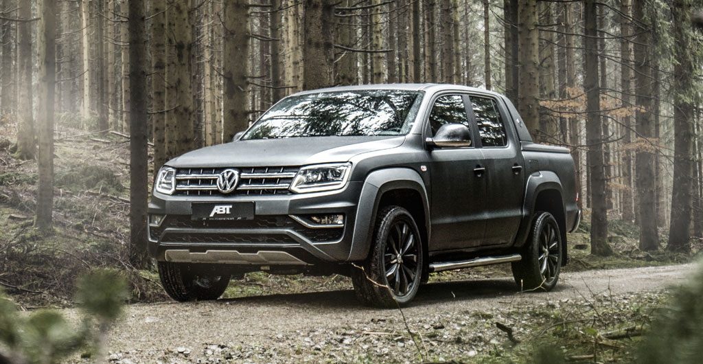 ABT Amarok Pickup Truck In A Forest