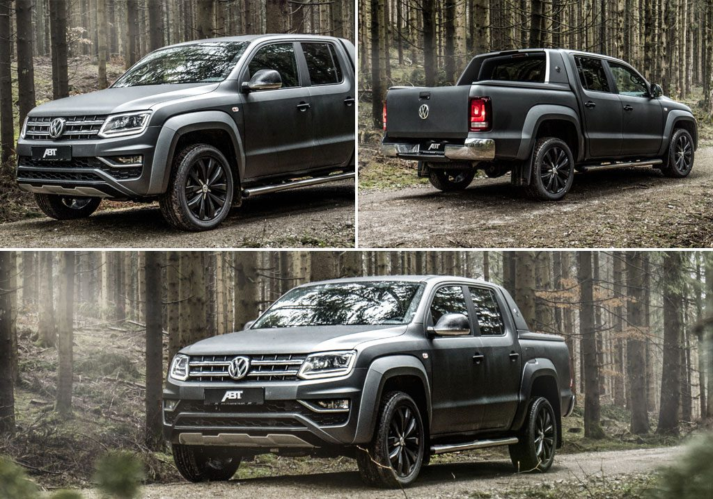 ABT VW Amarok Pickup Truck Photos In A Forest