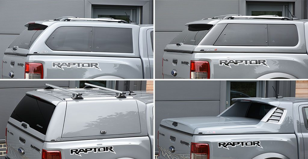 Ford Ranger Raptor New Hardtop Canopies In Conqueror Grey