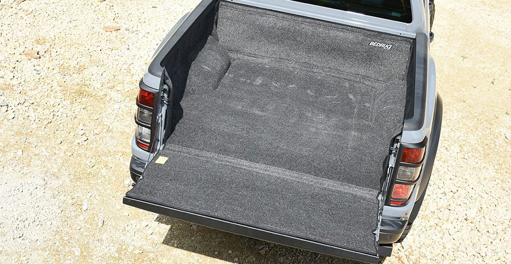 Best 4x4 Accessories - BedRug load bed liner in rear of pickup