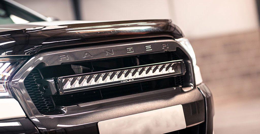 Best 4x4 Accessories - Ford Ranger front light bar grille integration kit