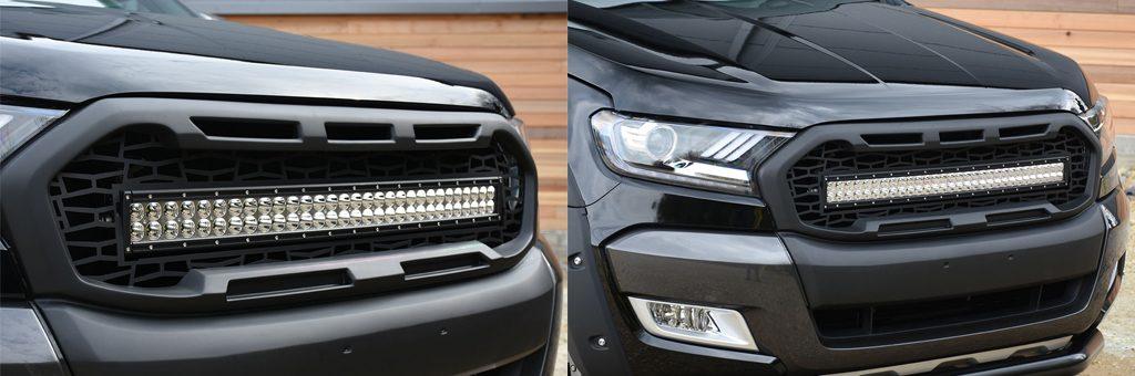 Ford Ranger Predator Vision LED light integration kit