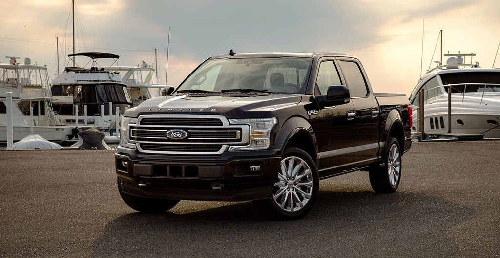 All-Electric Ford F-150 Pickup Truck