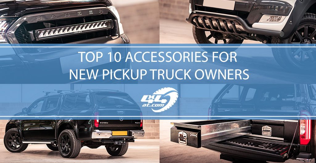 10 Best 4x4 Accessories For New Pickup Truck Owners