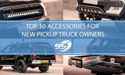 Top 10 Must-Have 4x4 Accessories For New Pickup Truck Owners