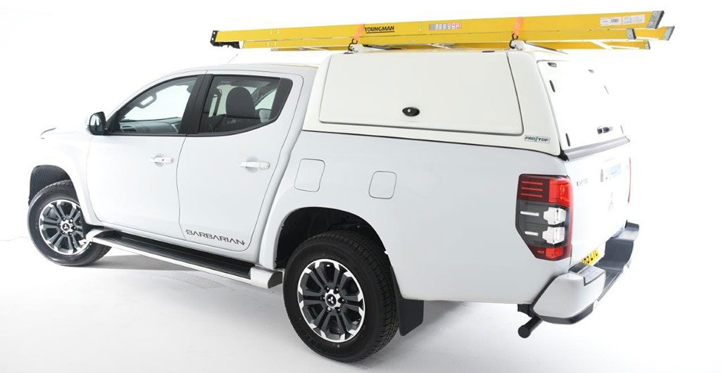 Pro//Top Commercial Hardtop Canopy Fitted To New Mitsubishi L200 Series 6