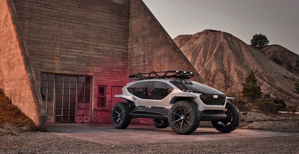 Audi's New Electric 4x4 Concept Vehicle
