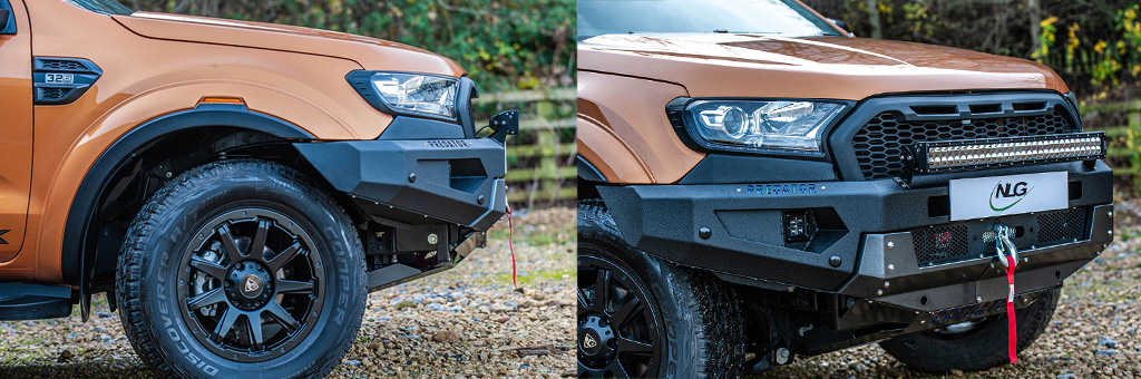 Ford Ranger 2019 Winch Recovery Bumper