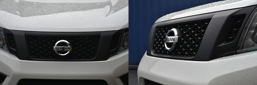 Nissan Navara NP300 Grille with Camera Mount