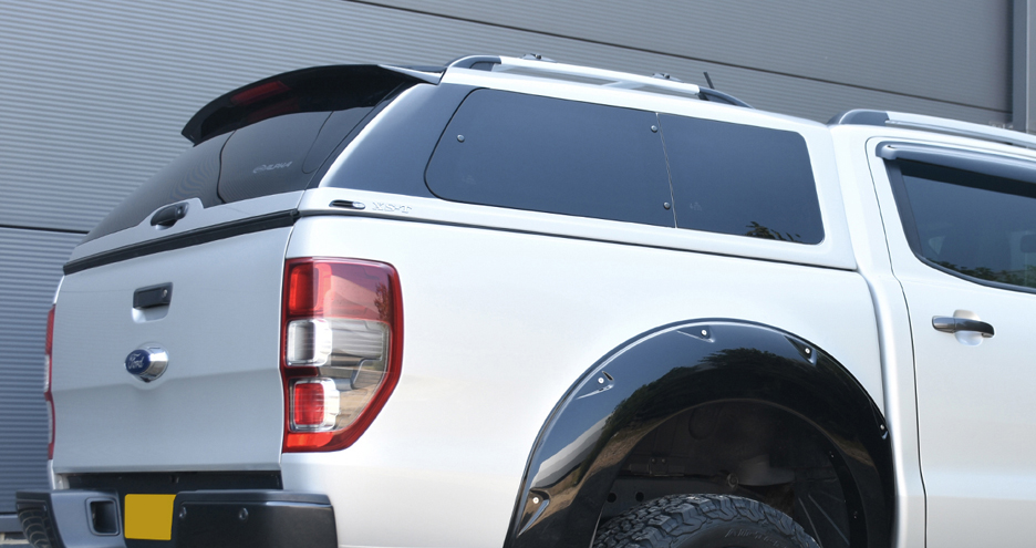 Alpha XS-T, all-new hardtop canopy for a Ford Ranger