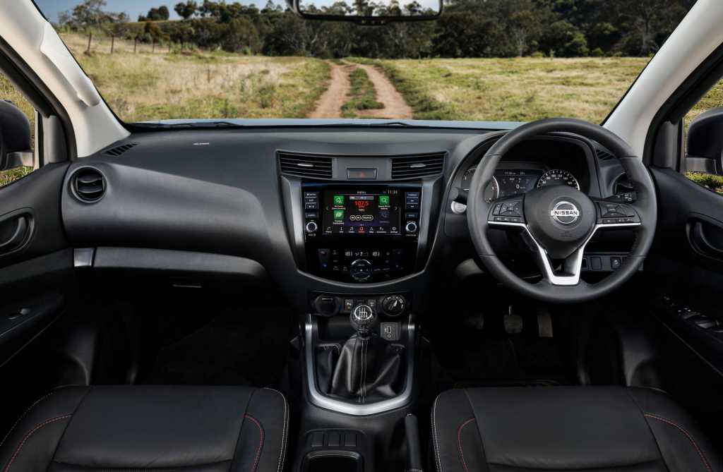 New Nissan Navara Pro-4X Inside