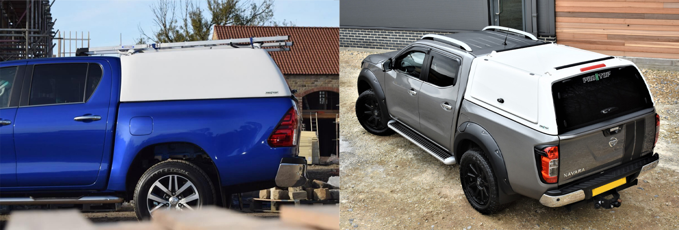 ProTop Hardtop Canopy on Toyota Hilux and Nissan Navara